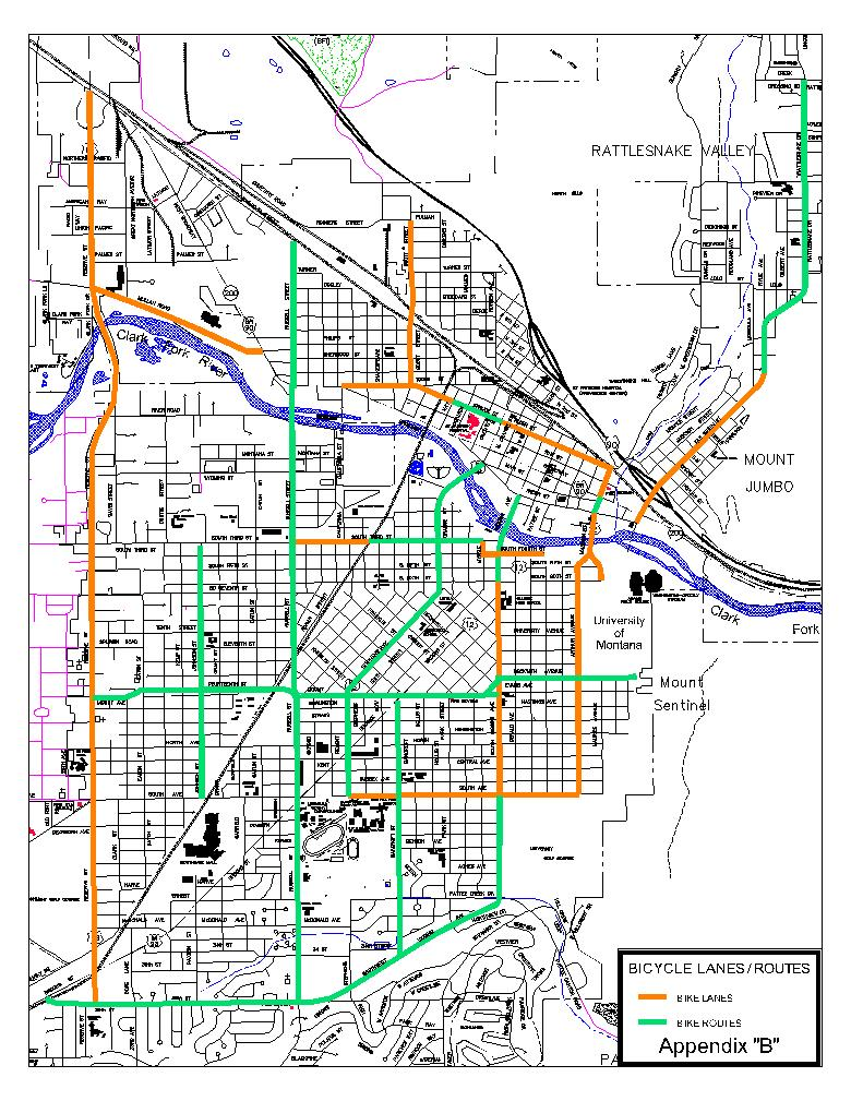 Missoula Maps Get Around Missoula - Missoula mt us map