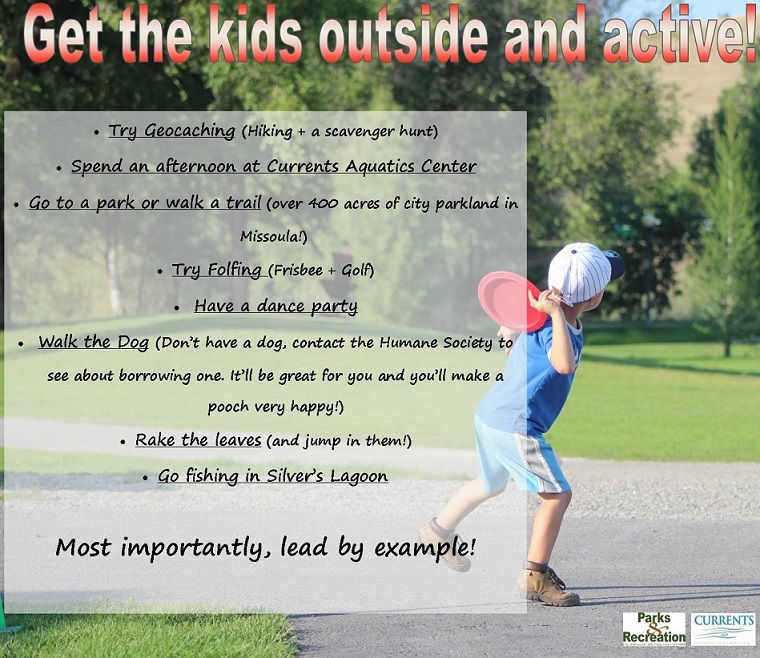 Get your kid outside and active