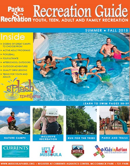 Summer Rec Guide Cover