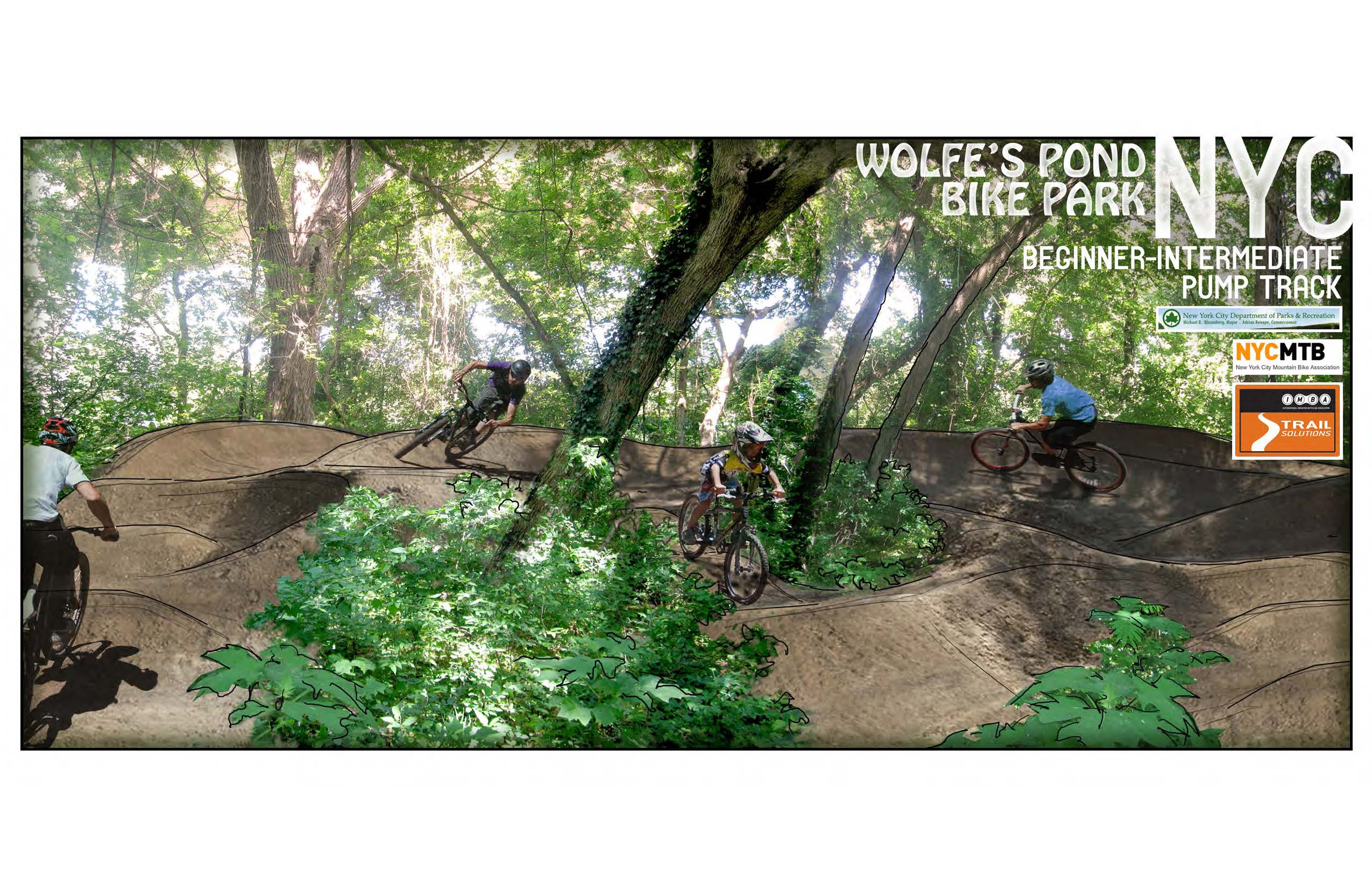 Wolfes Pond bike park