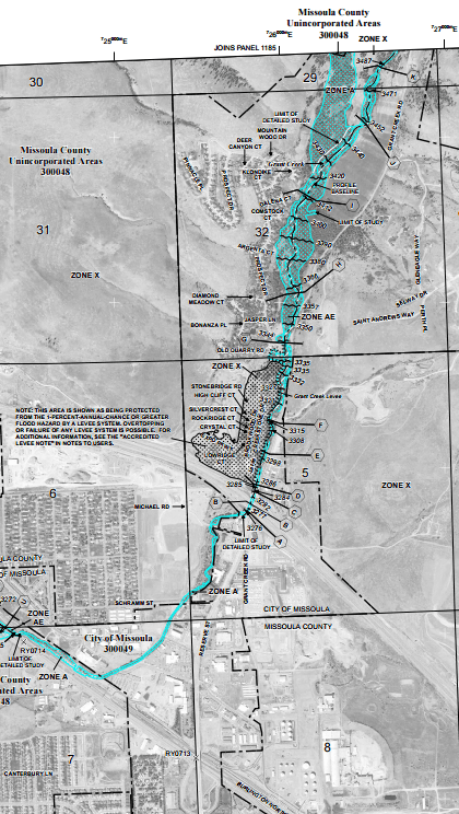 Floodplain Maps Missoula MT Official Website - Missoula mt us map