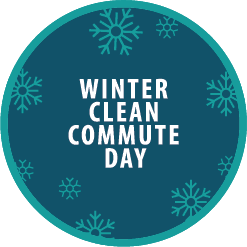 Winter Clean Commute Day Logo