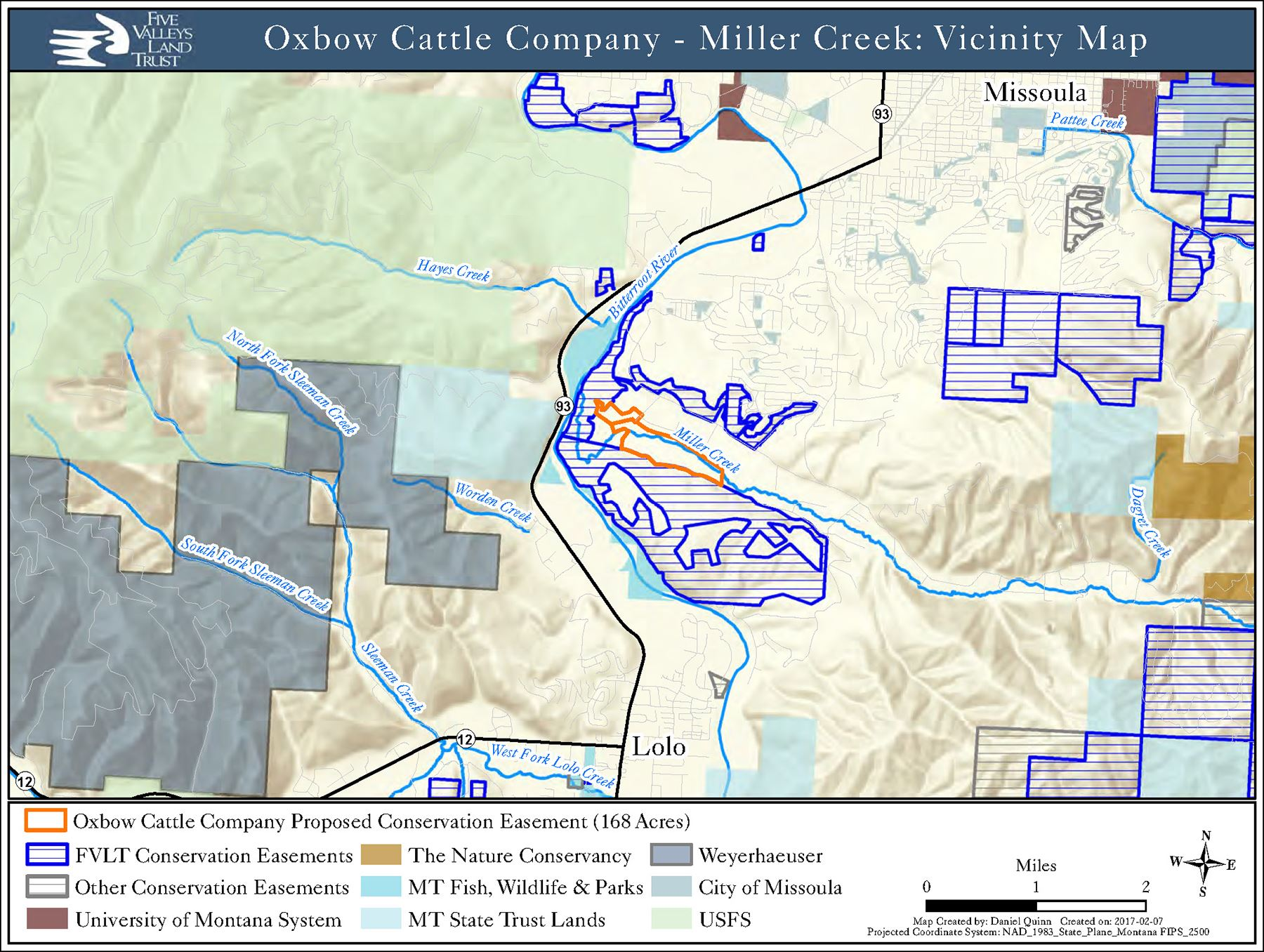 Oxbow OS Vicinity Map