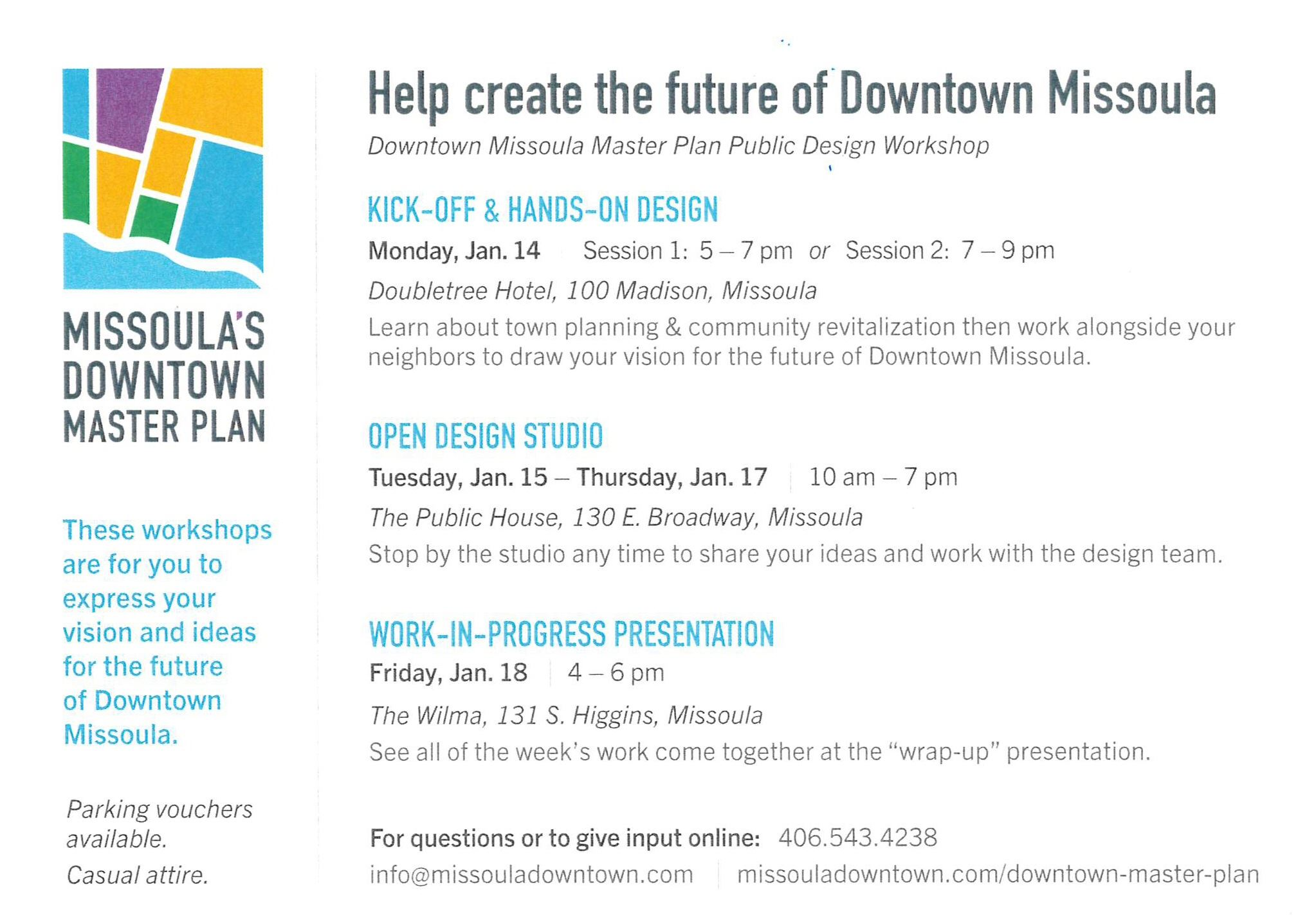 Downtown Master Plan Update - Charrette