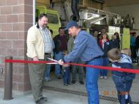 Station Two Grand Reopening Ceremonies