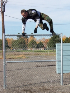 Training-Jumping Over Fence