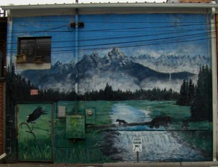 Scenic Mural at 322 N Higgins