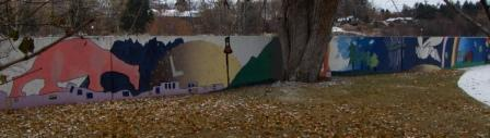 Untitled Mural at Bess Reed Park