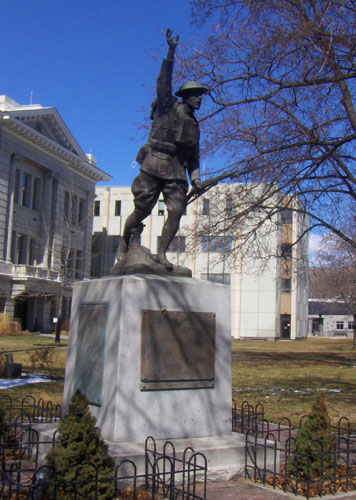 Veterans Memorial at Courthouse