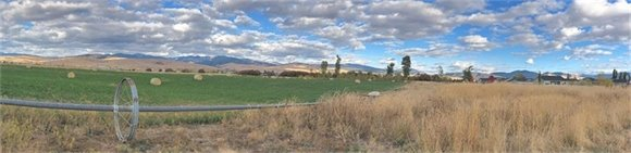 Rural Landscape near Mullan