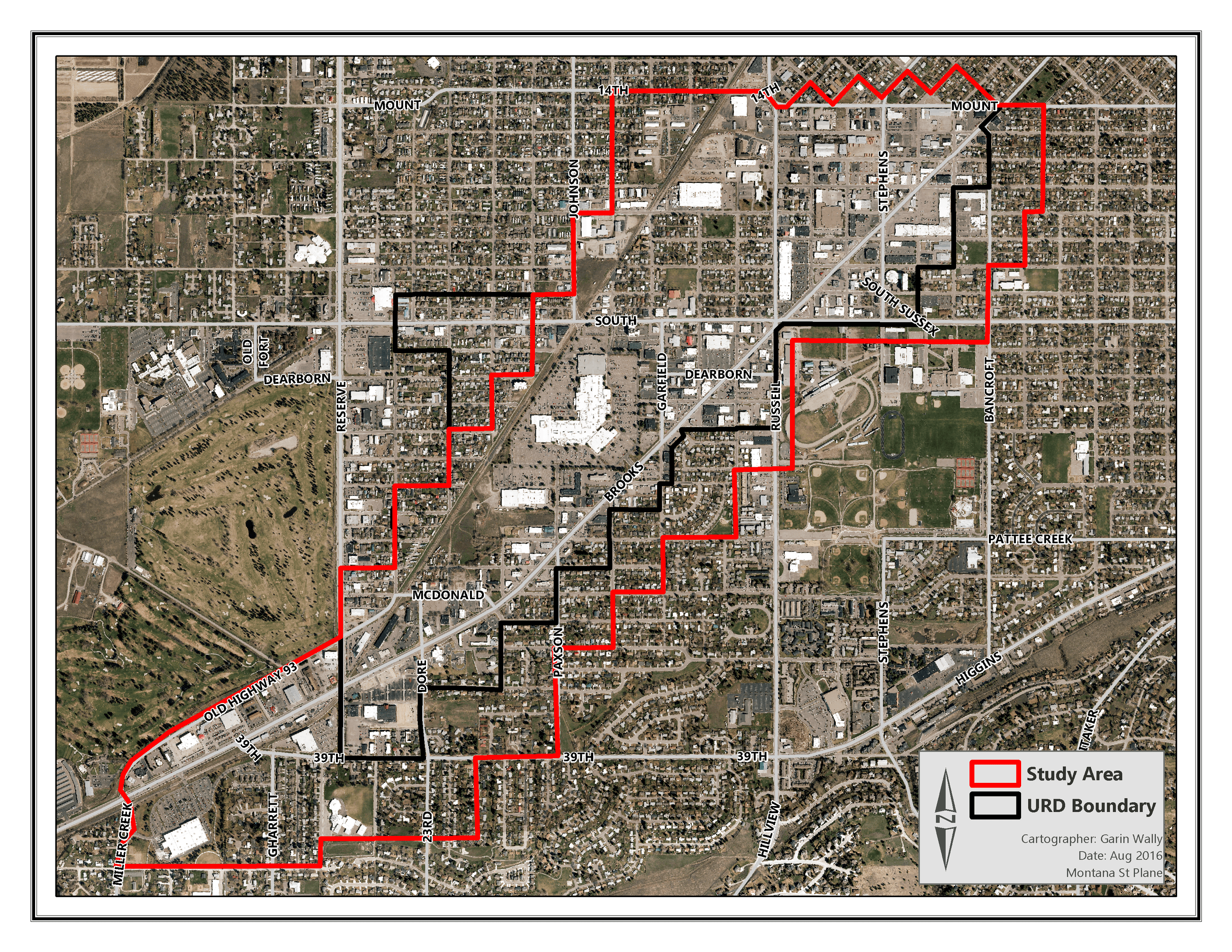 Brooks Street Corridor Study Missoula MT Official Website - Missoula mt us map
