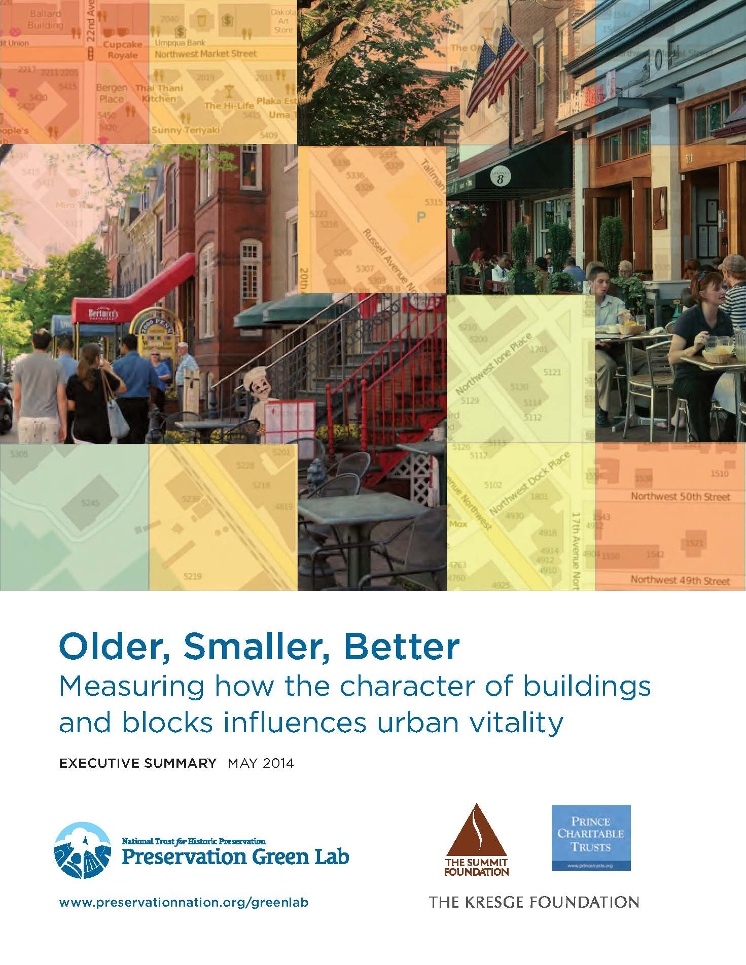 Older Smaller Better, Measuring Character, Summary Front Page