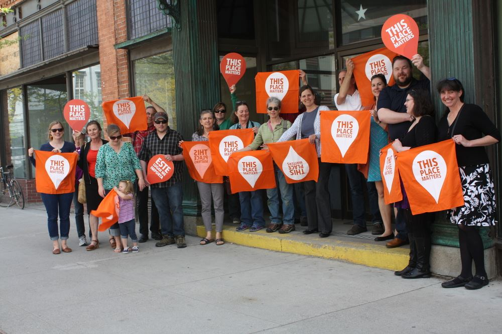 Historic Preservation Campaigning, photo courtesy of Montana Preservation Alliance