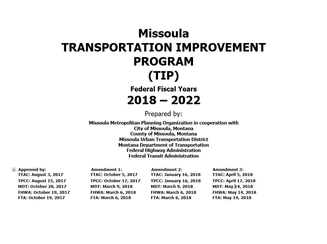 Plans and Documents   Missoula, MT - Official Website