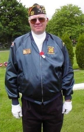 Honor guard veteran